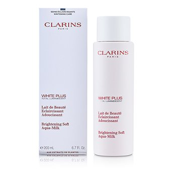 Clarins White Plus Total Luminescent Brightening Soft Aqua-Milk  200ml/6.7oz