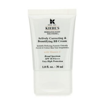 Kiehl's Actively Correcting & Beautifying BB Cream SPF 50 PA+++ (Fair)  30ml/1oz