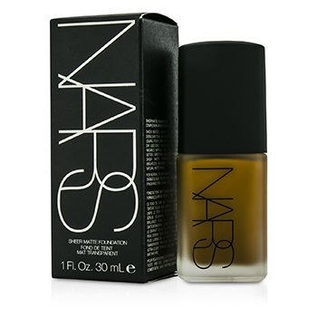 NARS Sheer Matte Foundation - Benares (Dark 2 - Dark with golden undertone)  30ml/1oz