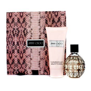 Jimmy Choo Jimmy Choo Coffret: Eau De Parfum Spray 60ml/2oz + Body Lotion 100ml/3.3oz  2pcs