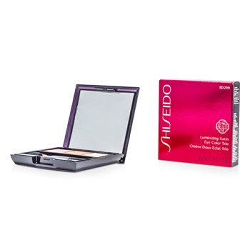 Shiseido Trío Color de Ojos Satinados Iluminadores - # RD299 Beach Grass  3g/0.1oz