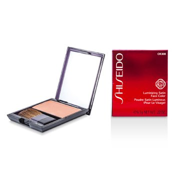 Shiseido Luminizing Satin Face Color - # OR308 Starfish  6.5g/0.22oz