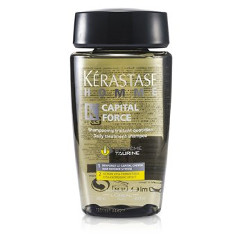 Kerastase Homme Capital Force Daily Treatment Shampoo (Vita-Energising Effect)  250ml/8.5oz