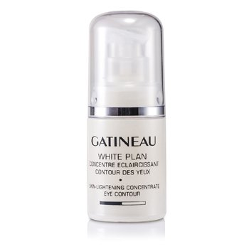 Gatineau Rozświetlające serum pod oczy White Plan Skin Lightening Concentrate Eye Contour (bez pudełka)  15ml/0.5oz