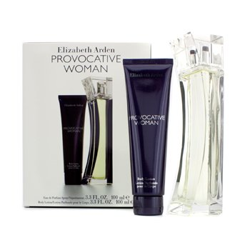 Elizabeth Arden Provocative Woman Coffret: Eau De Parfum Spray 100ml/3.3oz + Loci�n Corporal 100ml/3.3oz  2pcs