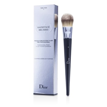 Christian Dior Backage Brushes Professional Finish Fluid Foundation Brush - Kuas Alas Bedak