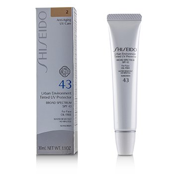 Shiseido Urban Environment Tinted UV Protector SPF 43 - # Shade 2  30ml/1.1oz