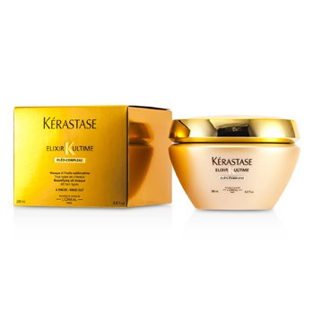 Kerastase Elixir Ultime Oleo-Complexe Beautifying Oil Masque (For All Hair Types)  200ml/6.8oz