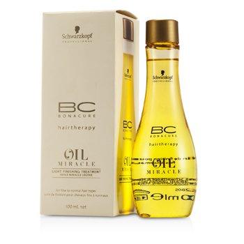 שוורצקופף BC Oil Miracle טיפול בגימור לייט (לשיער עדין עד רגיל)  100ml/3.4oz