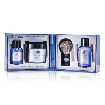 The Art Of Shaving ชุด The 4 Elements Of The Perfect Shave - Ocean Kelp (เจลก่อนโกน+ ครีมโกนหนวด+ โลชั่นหลังการโกน+ แปรง)  4ชิ้น