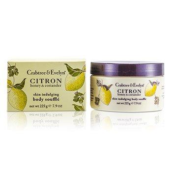 Crabtree & Evelyn Citron, Honey & Coriander Skin Indulging Body Souffle  225g/7.9oz