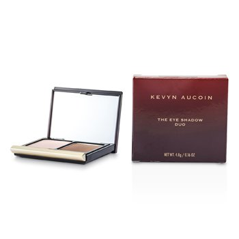 Kevyn Aucoin The Eye Shadow Duo - # 211 Pink Shell/ Deep Taupe  4.8g/0.16oz