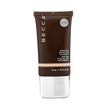 Becca Matte Skin Shine Proof Foundation - # Porcelain  40ml/1.35oz