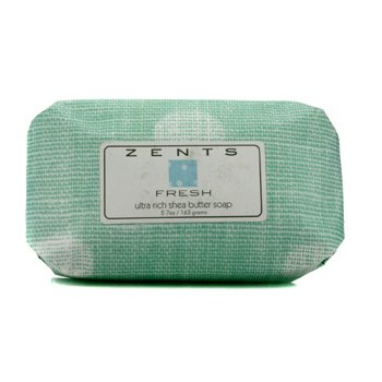 Zents Fresh Super-rik Sheasmør Såpe  163g/5.7oz