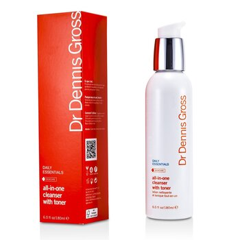 Dr Dennis Gross Daily Essentials All-In-One Cleanser with Toner  180ml/6oz