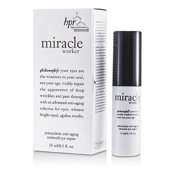 פילוסופי Miracle Worker Miraculous שחזור עיניים רטינול אנטי- אייגינג  15ml/0.5oz