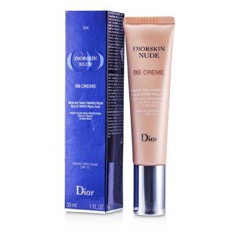 Christian Dior Diorskin Nude Crema BB Bálsamo Perfeccionador de Belleza Brillo Desnudo SPF 10 - # 004 (Dark)  30ml/1oz