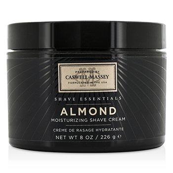 Caswell Massey Almond Crema de Afeitar Hidratante (Frasco)  226g/8oz