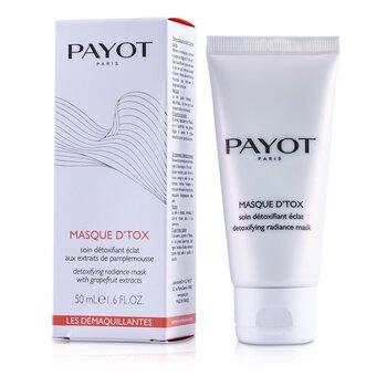 Payot Les Demaquillantes Masque D'Tox  Máscara Radiance Desintoxicante  50ml/1.6oz
