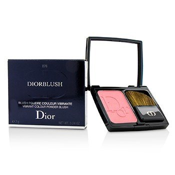 Christian Dior DiorBlush Vibrant Colour Powder Blush - # 876 Happy Cherry  7g/0.24oz