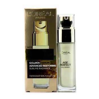L'Oreal Age Perfect Cell Renew Golden Serum Advanced Restoring  30ml/1oz