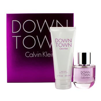 Calvin Klein Downtown Coffret: Eau De Parfum Spray 90ml/3oz + Body Lotion 200ml/6.7oz  2pcs