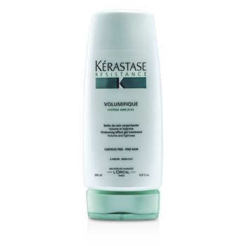 Kerastase Resistance Volumifique Thickening Effect Gel Treatment (Volume and Lightness)  200ml/6.8oz