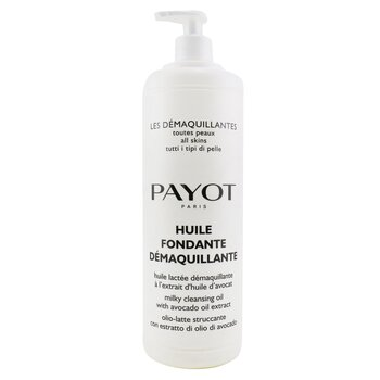 Payot Les Demaquillantes Huile Fondante Demaquillante Milky Cleansing Oil - For All SKin Types (Salon Size)  1000ml/33.8oz