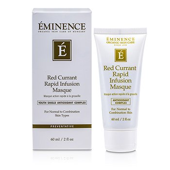Eminence Red Currant Máscara de Infusión Rápida (Piel Normal a Mixta)  60ml/2oz