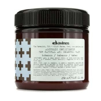 Davines Alchemic Conditioner Tobacco (For Natural & Mid to Light Brown Hair)  250ml/8.45oz
