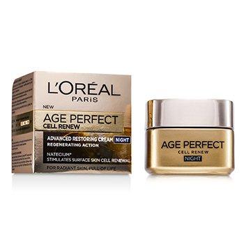 L'Oreal Creme Noturno Age Perfect Cell Renew Advanced Restoring  50ml/1.7oz