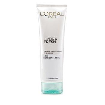 L'Oreal فوم پاکسازی کننده و آبرسان Hydra Fresh با PH 6.5  125ml/4.2oz
