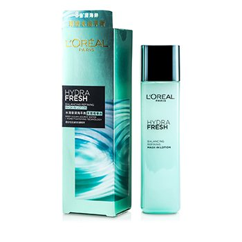 L'Oreal Hydrafresh Balancing Refining Mask-In Lotion  175ml/4.2oz