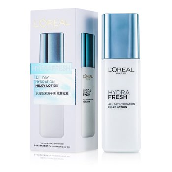 L'Oreal Hydrafresh All Day Hydration Milky Lotion  125ml/4.2oz