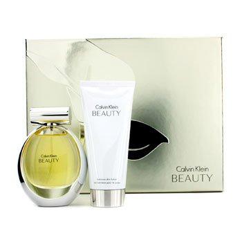 Calvin Klein Kit Beauty : Eau De Parfum Spray 50ml/1.7oz + Luminous Body Lotion 100ml/3.4oz  2pcs