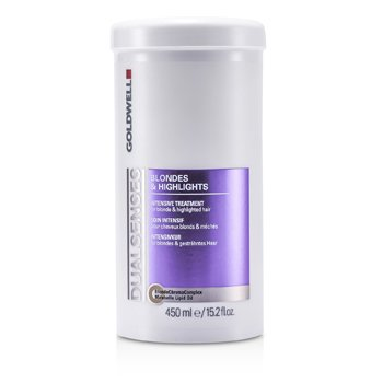 Goldwell Dual Senses Blondes & Highlights Intensive Treatment - For Blonde & Highlighted Hair (Salon Product)  450ml/15.2oz
