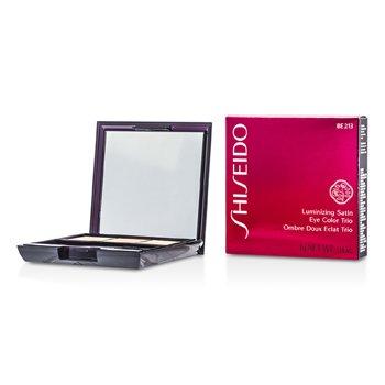Shiseido Luminizing Satin Eye Color Trio - Pewarna Mata - # BE213 Nude  3g/0.1oz