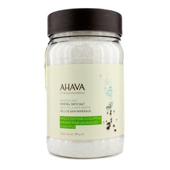 Ahava Deadsea Salt Eucalyptus Dead Sea Bath Salt - Garam Perenda  907g/32oz