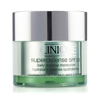Clinique Superdefense Daily Defense Moisturizer SPF 20 - Pelembab (Kulit Kombinasi ke Berminyak)  50ml/1.7oz