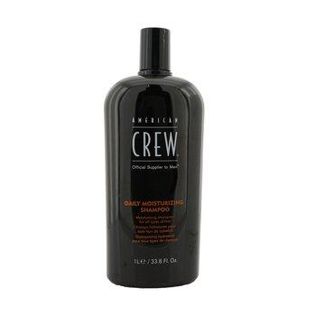 American Crew Shampoo Men Daily Moisturizing (Todos Tipos de Cabelos)  1000ml/33.8oz