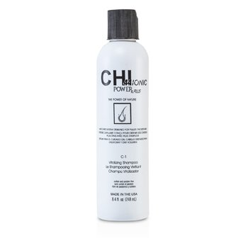 CHI Shampoo Vitalizante CHI44 Ionic Power Plus C-1 (Para Dar Volume)  248ml/8.4oz