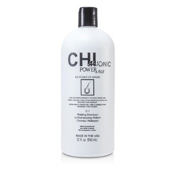 CHI Shampoo Vitalizante CHI44 Ionic Power Plus C-1 (Para Dar Volume)  946ml/32oz