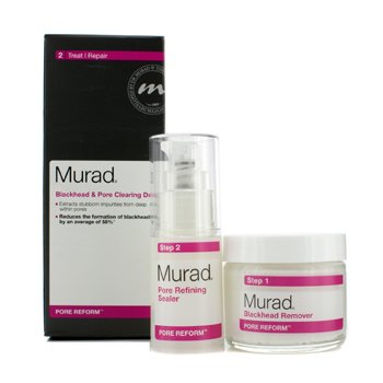 Murad Pore Reform Blackhead & Pore Clearing Duo: Blackhead Remover 50g + Pore Refining Sealer 15ml  2pcs