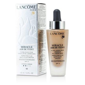 Lancome Miracle Air De Teint Ľahký zdokonaľujúci make-up pre nahé líčenie SPF 15 – 02 Lys Rose  30ml/1oz