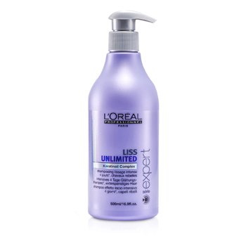 L'Oreal Professionnel Expert Serie - Liss Unlimited Καταπραϋντικό Σαμπουάν (Για Ατίθασα Μαλλιά)  500ml/16.9oz