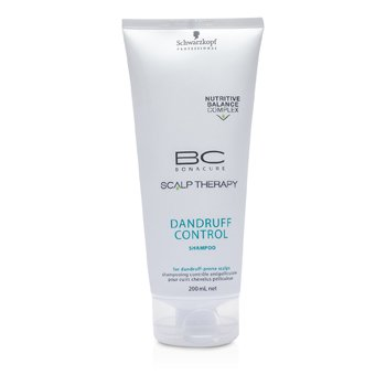 Schwarzkopf BC Scalp Therapy Dandruff Control Shampoo (For Dandruff-Prone Scalps)  200ml/6.8oz