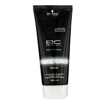 Schwarzkopf BC Fibre Force Shampoo (For Extremely Damaged Hair)  200ml/6.7oz