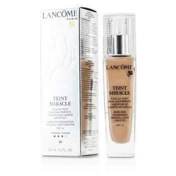 Lancome Teint Miracle Bare Skin Φυσικιά Ελαφριά Βάση Μέικαπ SPF15 - # 02 Τριαντάφυλλο Κρίνος  30ml/1oz