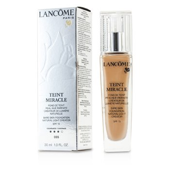 Lancome Teint Miracle Bare Skin Foundation Natural Light Creator SPF 15 - # 035 Beige Dore  30ml/1oz