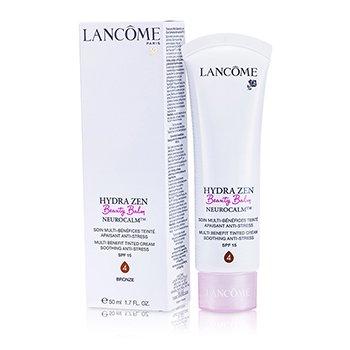 Lancome Hydrazen Beauty Balm Neurocalm Crema con Tinte Anti Estrés Calmante Multi Beneficios SPF 15 - # 4 Bronze  50ml/1.7oz